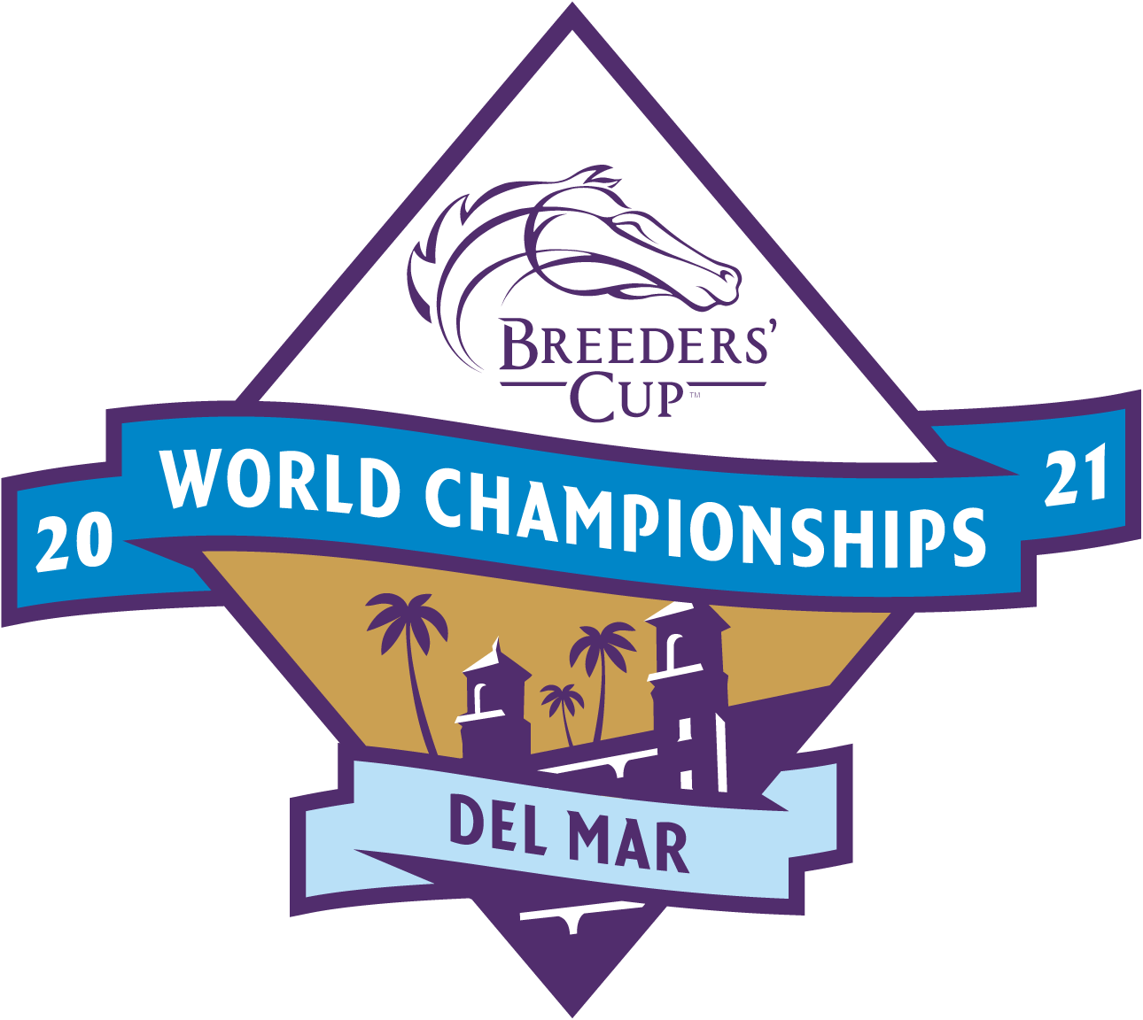 Breeders' Cup Reveals Official Logo for 2021 Breeders' Cup World Championships