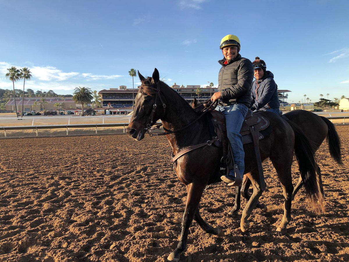 Post-Fire Situation Settles at Del Mar as Training Is Held