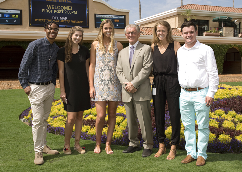 Del Mar Intern Class of 2017 has Distinct Local Flavor