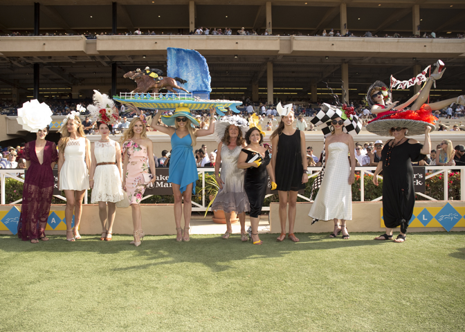 Del Mar Opening Day Hats Contest