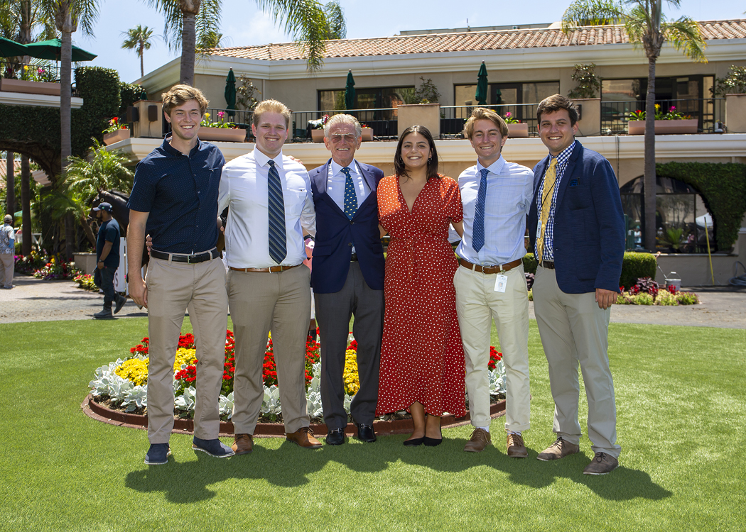 Del Mar's a Familiar Place for Its Intern Class of 2019