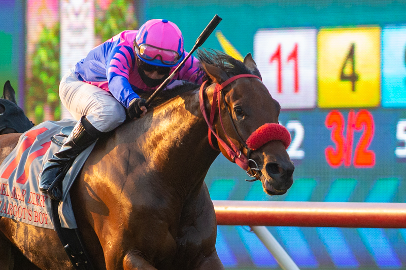 10 Sophs on Turf Sunday in Let It Ride Stakes