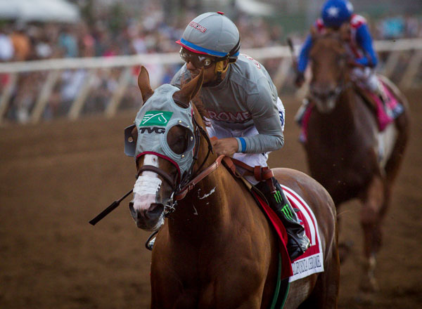2016 TVG Pacific Classic Winner, California Chrome