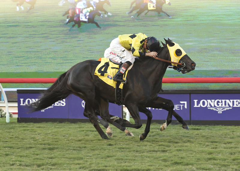 Moonless Sky Rallies to Win Del Mar Feature