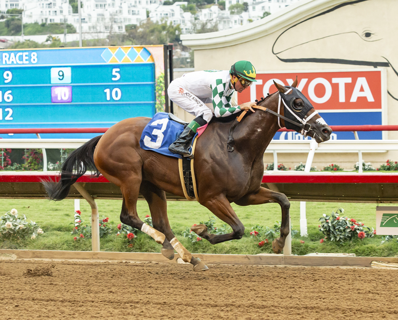 Sixth Solo Pick Six Ticket Registers at Del Mar
