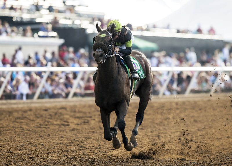 Ransom the Moon Defeats Roy H Again in Grade I Bing Crosby Stakes
