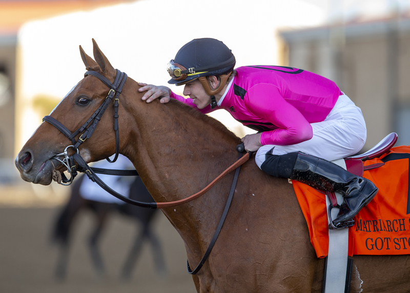Got Stormy Prevails in Grade I Matriarch Stakes