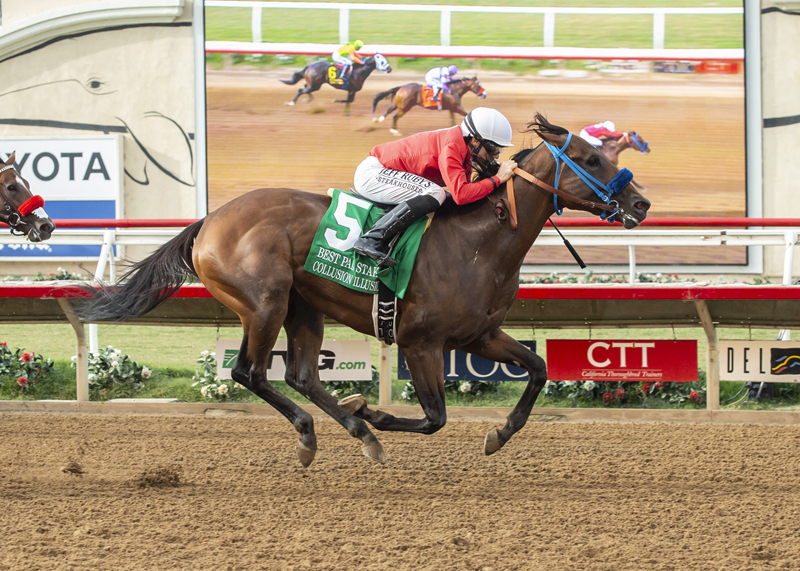 Collusion Illusion Pulls Surprise in Best Pal Stakes at Del Mar