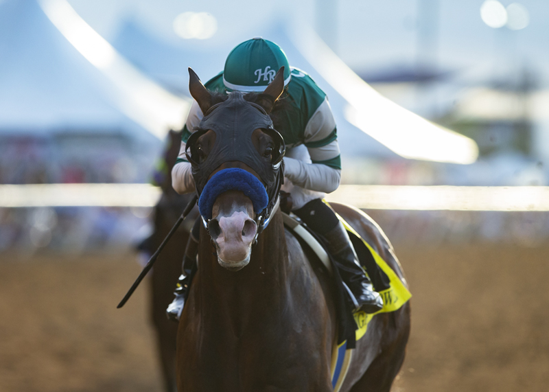 Higher Power, Prat Win $1 Million TVG Pacific Classic