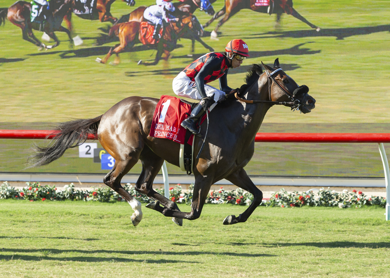 Prince Earl Surprises in Del Mar Mile