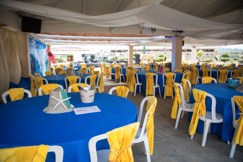 Pavilion Event Setup