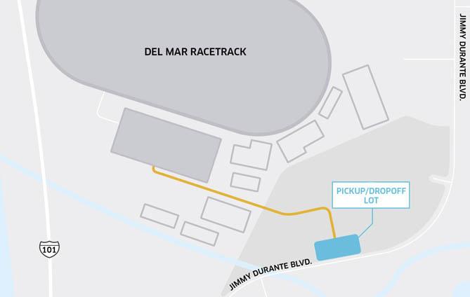 Uber Rider Map Del Mar