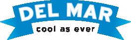 Del Mar Cool As Ever Logo