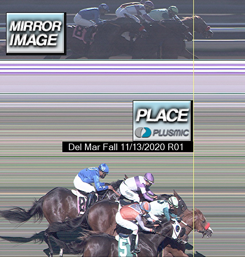 Photo finish for Nov 13, 2020 1, 2nd place