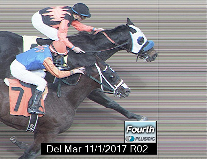 Photo finish for Nov 1, 2017 2, 4th place