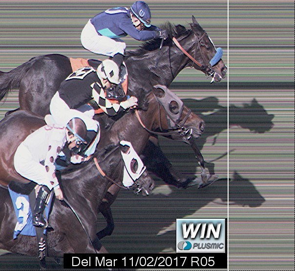 Photo finish for Nov 2, 2017 5, 1st place