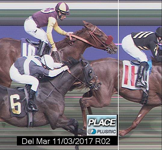 Photo finish for Nov 3, 2017 2, 2nd place