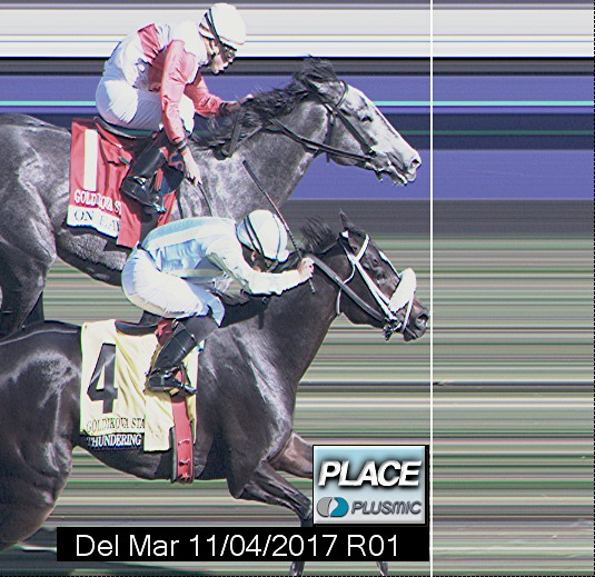 Photo finish for Nov 4, 2017 1, 2nd place