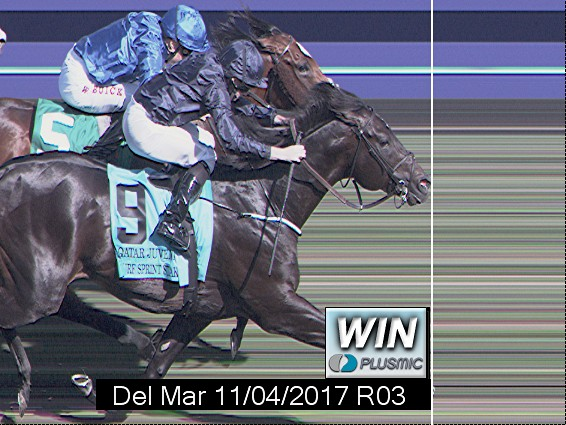 Photo finish for Nov 4, 2017 3, 1st place