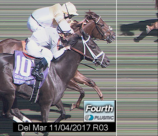 Photo finish for Nov 4, 2017 3, 4th place