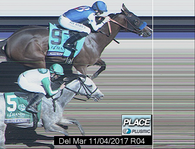 Photo finish for Nov 4, 2017 4, 2nd place