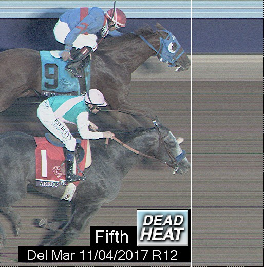 Photo finish for Nov 4, 2017 12, 5th place