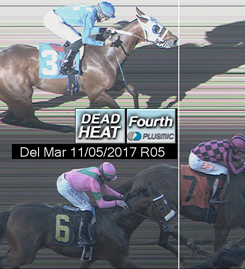 Photo finish for Nov 5, 2017 5, 4th place
