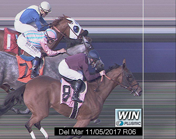 Photo finish for Nov 5, 2017 6, 1st place