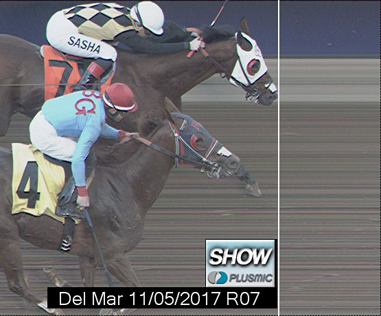 Photo finish for Nov 5, 2017 7, 3rd place
