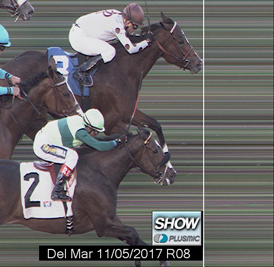 Photo finish for Nov 5, 2017 8, 3rd place