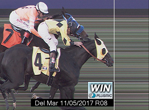 Photo finish for Nov 5, 2017 8, 1st place
