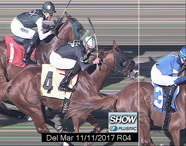 Photo finish for Nov 11, 2017 4, 3rd place
