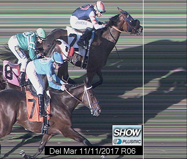 Photo finish for Nov 11, 2017 6, 3rd place