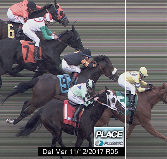 Photo finish for Nov 12, 2017 5, 2nd place