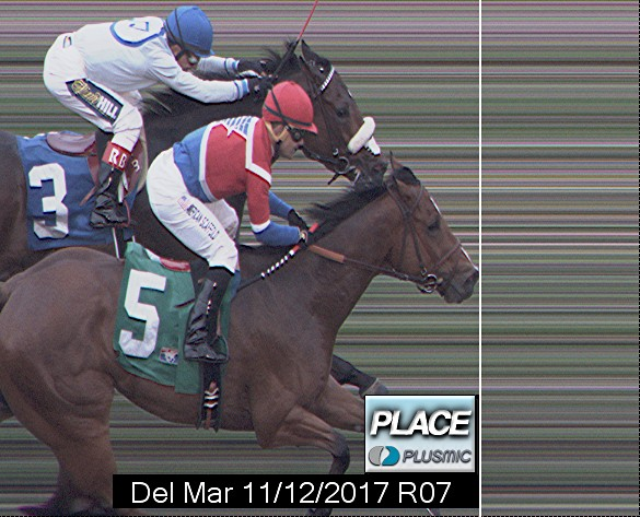 Photo finish for Nov 12, 2017 7, 2nd place