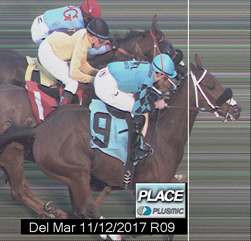 Photo finish for Nov 12, 2017 9, 2nd place