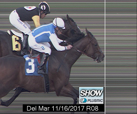 Photo finish for Nov 16, 2017 8, 3rd place