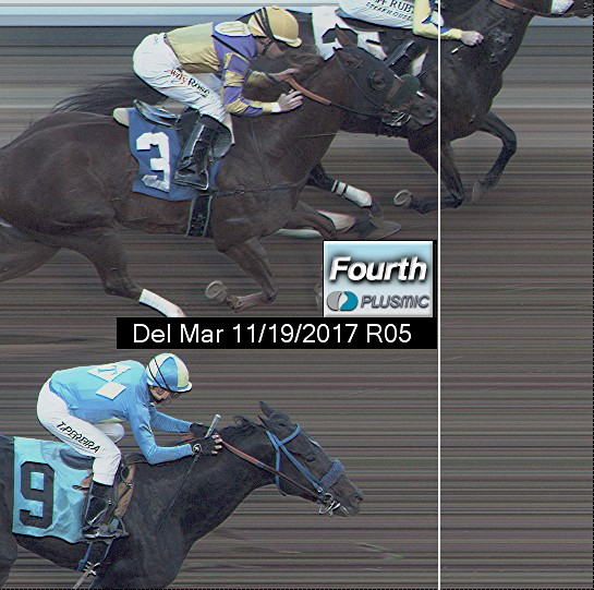 Photo finish for Nov 19, 2017 5, 4th place