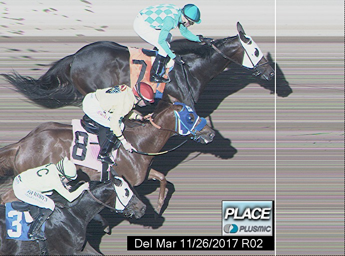 Photo finish for Nov 26, 2017 2, 2nd place