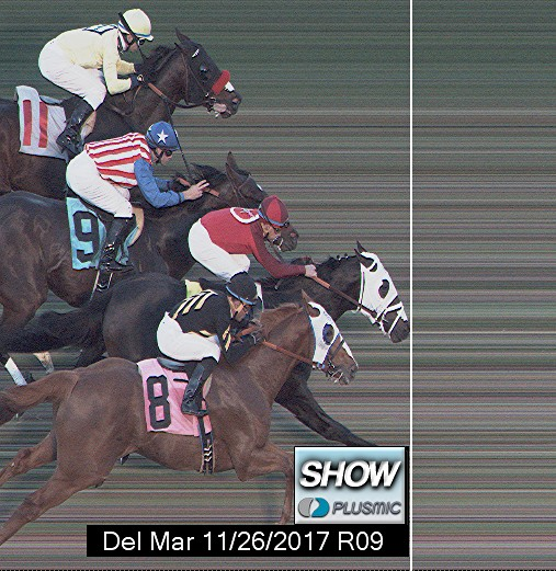Photo finish for Nov 26, 2017 9, 3rd place