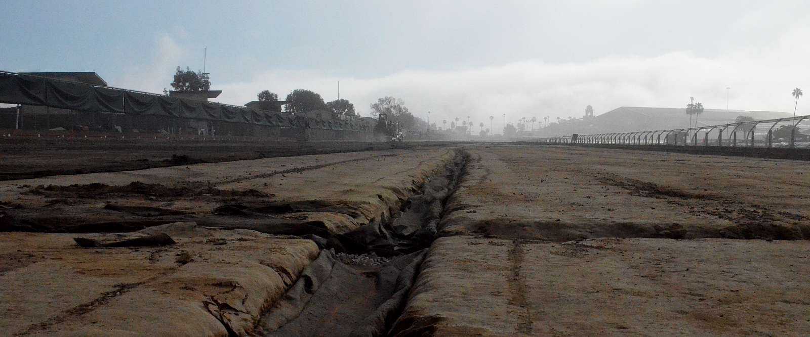 Photo of Main Track Conversion Work Moving Through Its Phases