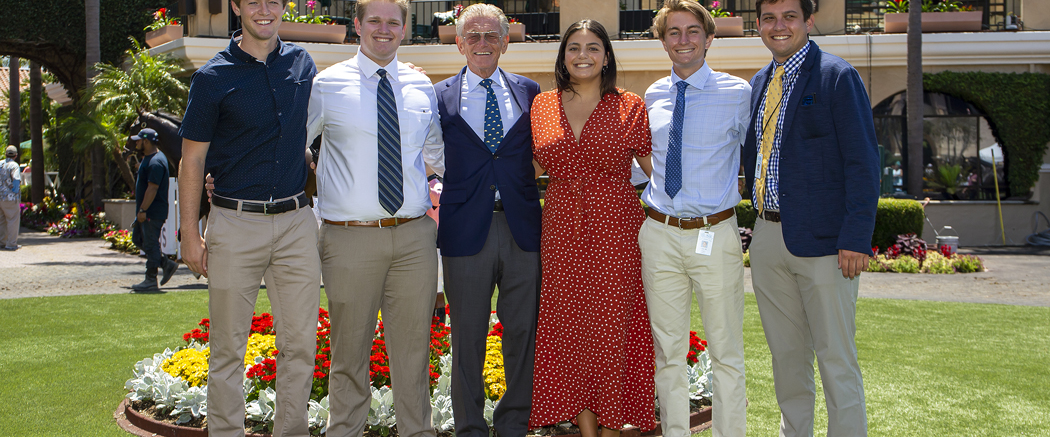 Photo of Del Mar's a Familiar Place for Its Intern Class of 2019