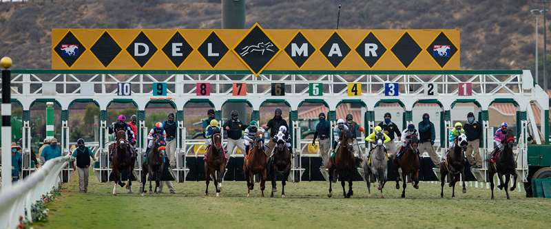 Photo of Record Handle, Safe Racing Highlight Del Mar's Bing Crosby Season; Seaside Track Set to Host 2021 Breeders' Cup
