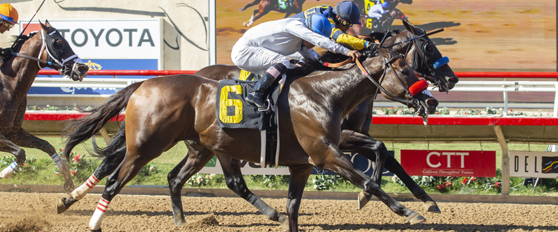 Photo of Two Thirty Five Scores in Brubaker Stakes