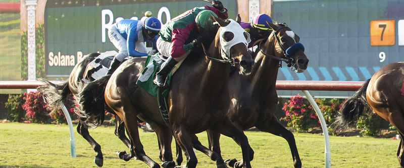 Photo of Pulpit Rider Up in Last Jump to Take Del Mar's Solana Beach