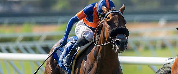 """Photo of """"Secret,"""" Prat Shake Loose to Win Del Mar Friday Feature"""