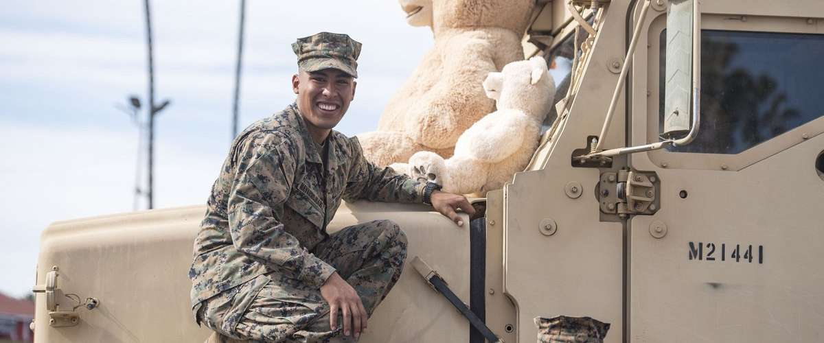 """Photo of """"Toys for Tots"""" Program, Event Back at Del Mar This Sunday"""