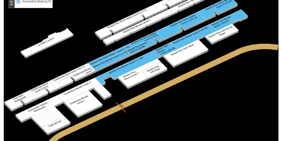 Stretch Run Levels 2-3 Map