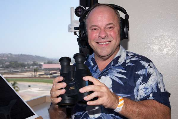 Photo of Collmus Fills In Again for Denman at Del Mar's Fall Meet