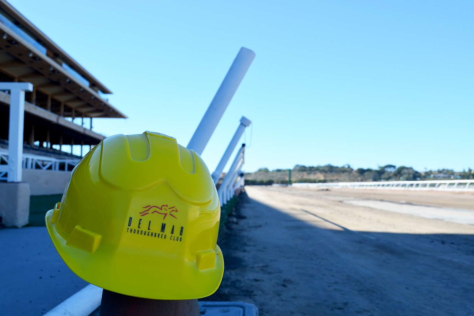 Photo of Del Mar's Main Track Work Moving Ahead; Polytrack Totally Recycled
